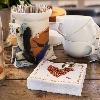 E-shop Prestieranie: Servitky-24cm-3vrst--Coffee-Heart-(2000ks)