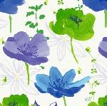 Luxusný obrúsok 40cm Dunilin Sunbrella blue (1ks)